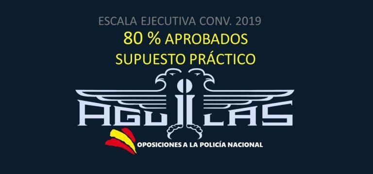 RESULTADOS ESCALA EJECUTIVA 2019